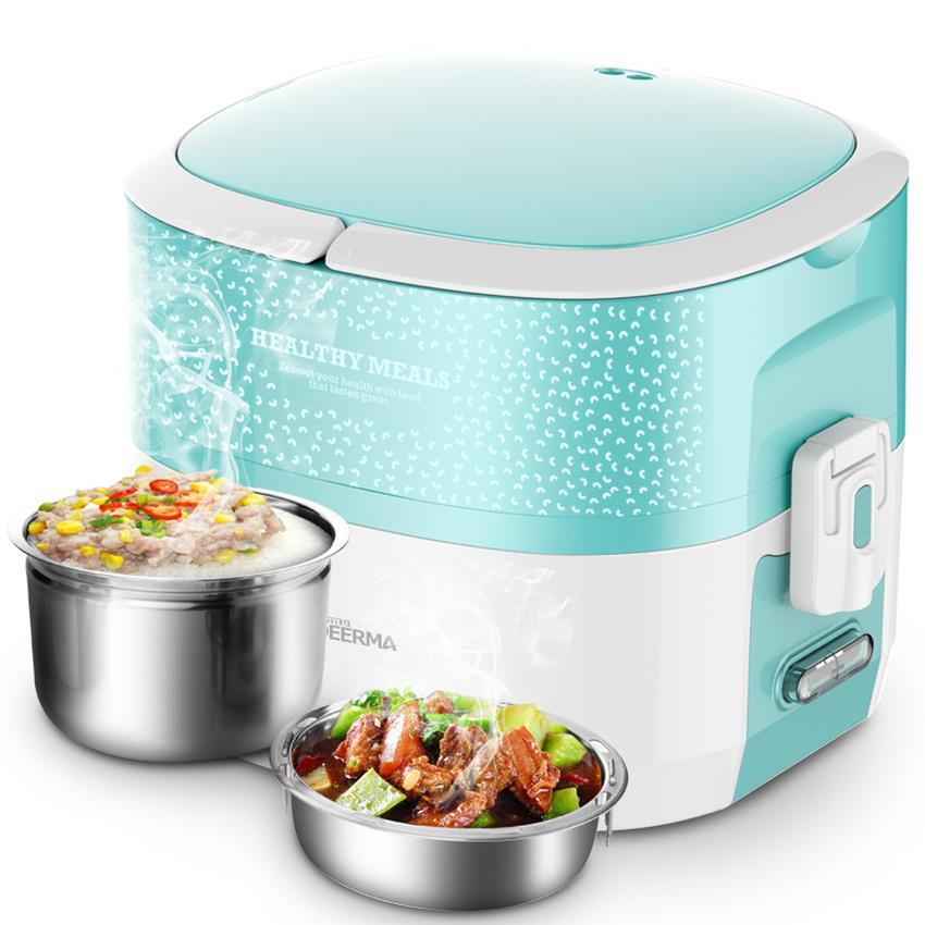 Deerma DEM-DS03 Multifuction 2 Layer Electric Heating Lunch Box