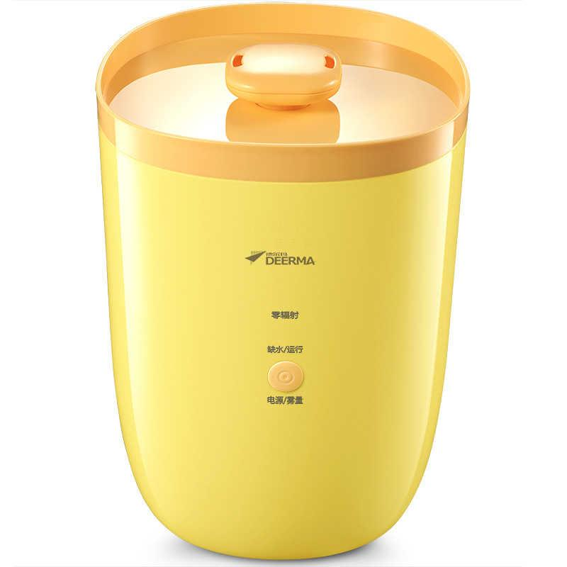 New Deerma Yellow Banana:3.5L Air Humidifier,Purifier Solid, Last Long