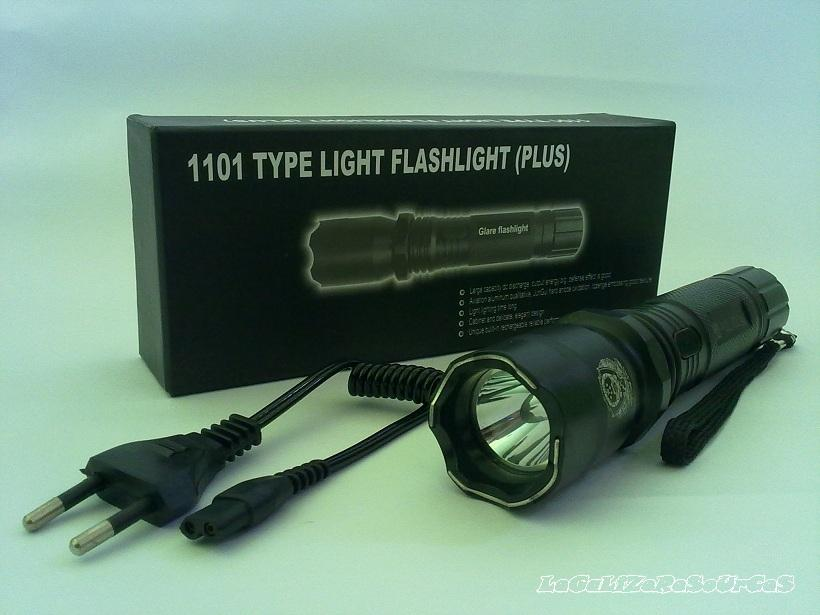 SELF DEFENCE STUN GUN 1101 TYPE LIGHT FLASHLIGHT (PLUS)