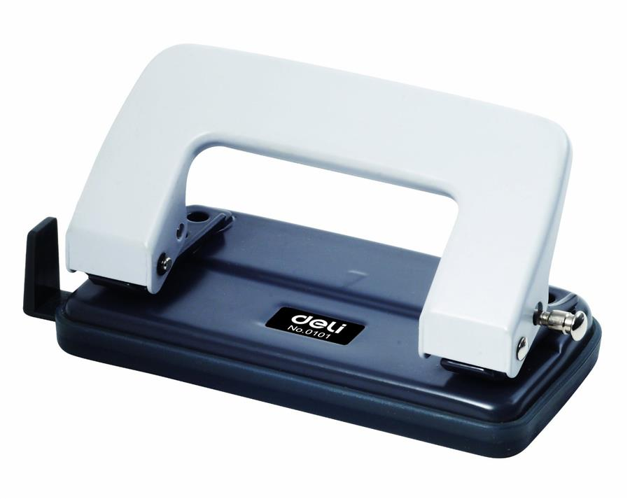 Deli 0101 2 Hole Paper Puncher Punch up to 10 sheets