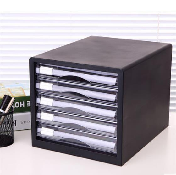 Deli 9775 Document Cabinet Drawer Container 5-Drawer Organizer