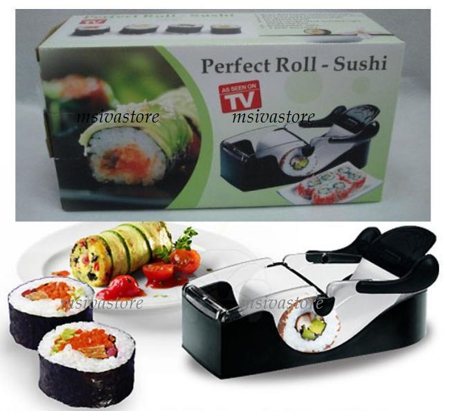 Delicious Sushi Maker Easy Roll Roller Machine Perfect Home Gadget