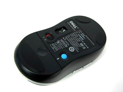 Dell 5-Button Bluetooth Wireless Optical Travel Mini Mouse PU705
