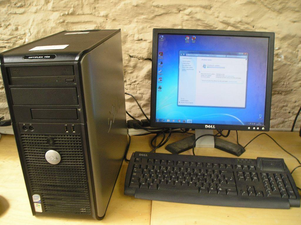 used Dell desktop.Core2Duo. 2month warranty.50set .01131204496.adi