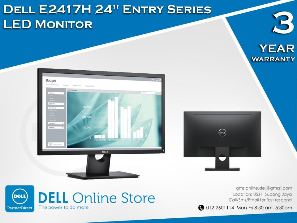 Dell E2417H 24'' Entry Series LED Monitor