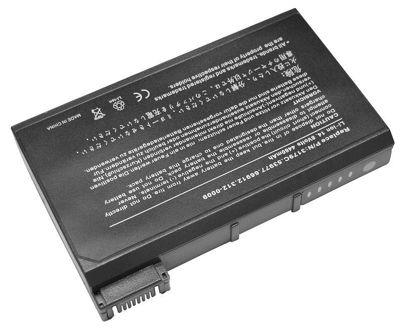 dell inspiron 2500 battery 6cell black