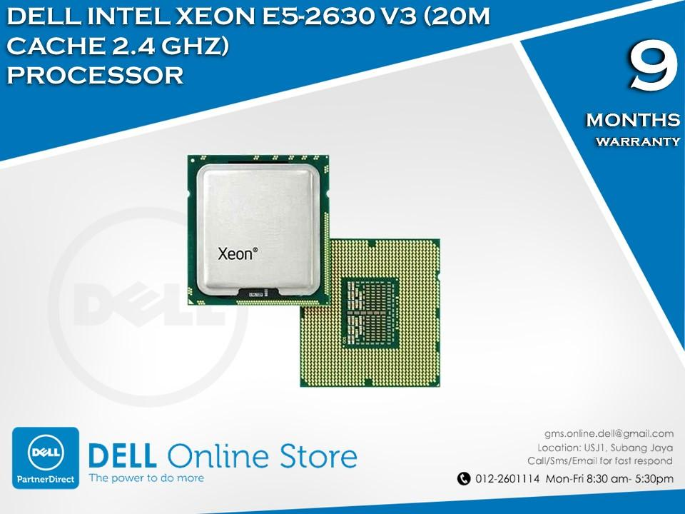 Dell Intel Xeon E5-2630 V3 (20M Cache 2.4 Ghz) Processor