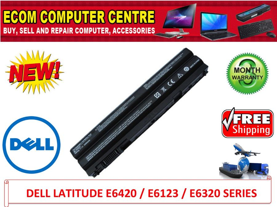 DELL LATITUDE  E6120/E6220/E6320/E6330 SERIES LAPTOP BATTERY