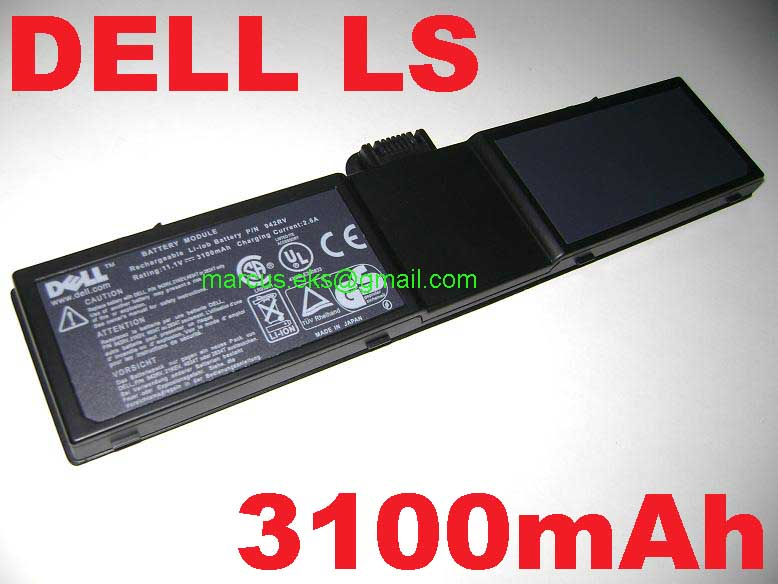 Dell Latitude LS L400 LS400 2834T LS 5819U LSH LST Battery 3100mAh