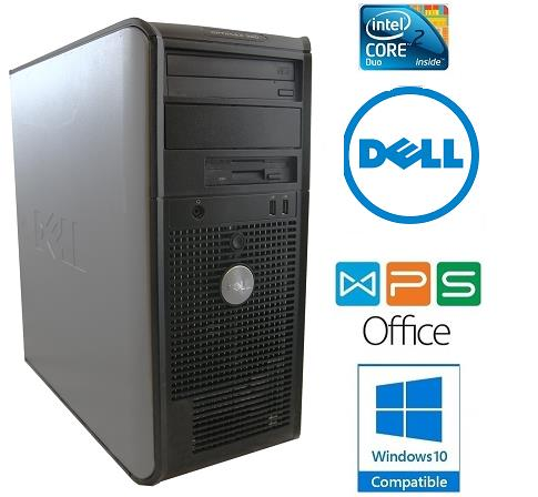 DELL OPTIPLEX 330 MT Core2Duo 2GB 160GB Windows 7 Pro CPU