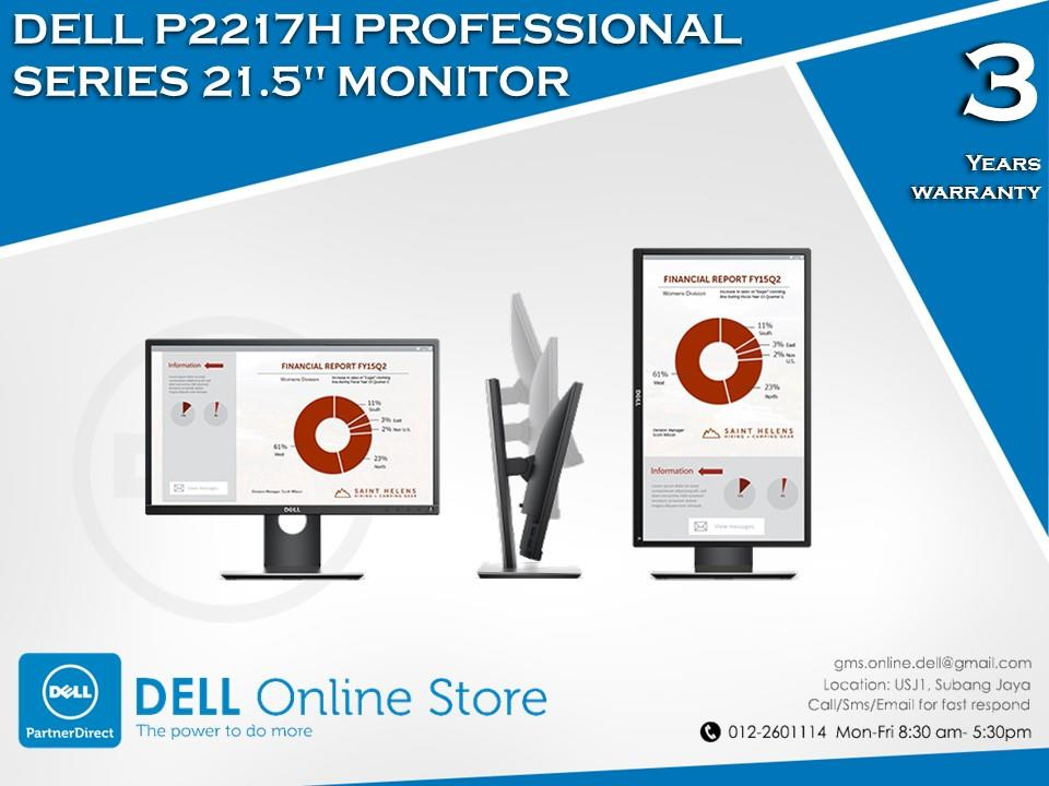 Dell P2217H Professional Series 21.5' Monitor