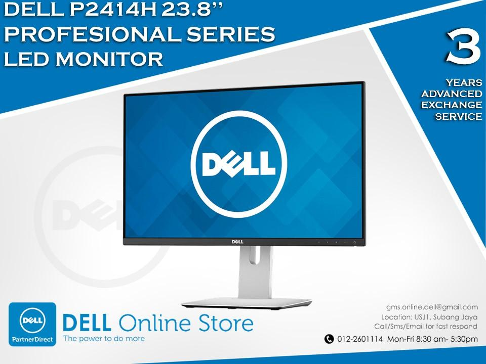 Dell p2414h 23 8 professional series led monitor end 8 5 2016 3 15