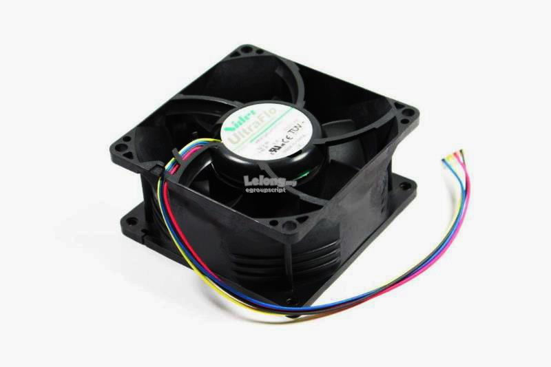 Dell PowerEdge C2100 Server Fan Assembly 07T11