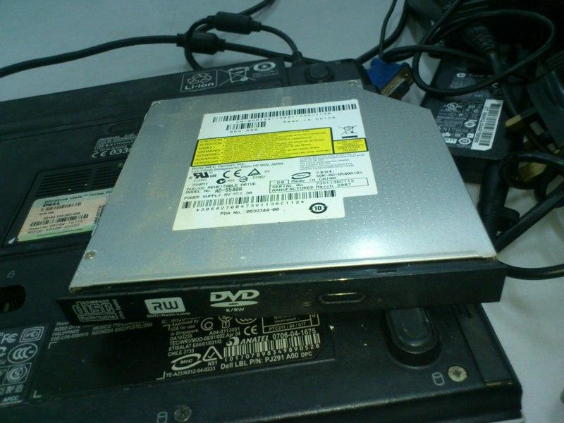 Dell XPS M1210 Notebook DVD-RW Drive 191113