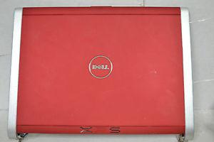 Dell XPS M1330 Red LED LCD J019 Cover with Hinges