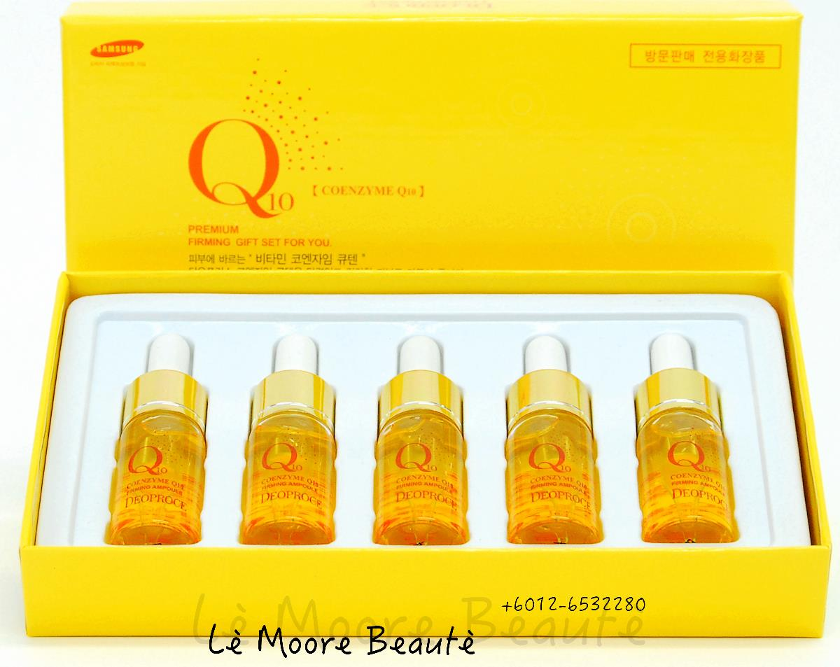 DEOPROCE Coenzyme Q10 Firming Ampoule SET (10ml x 5 )