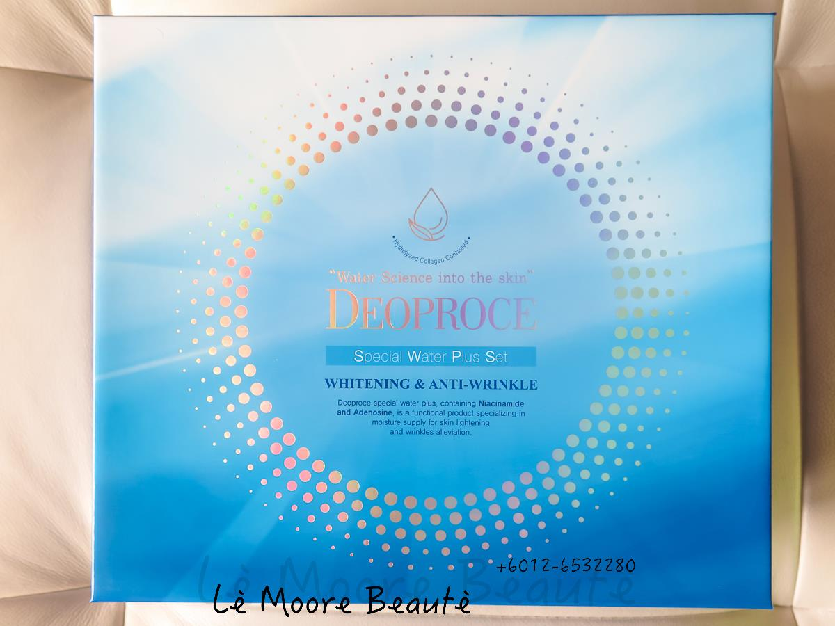 DEOPROCE Special Water Plus Skincare Range