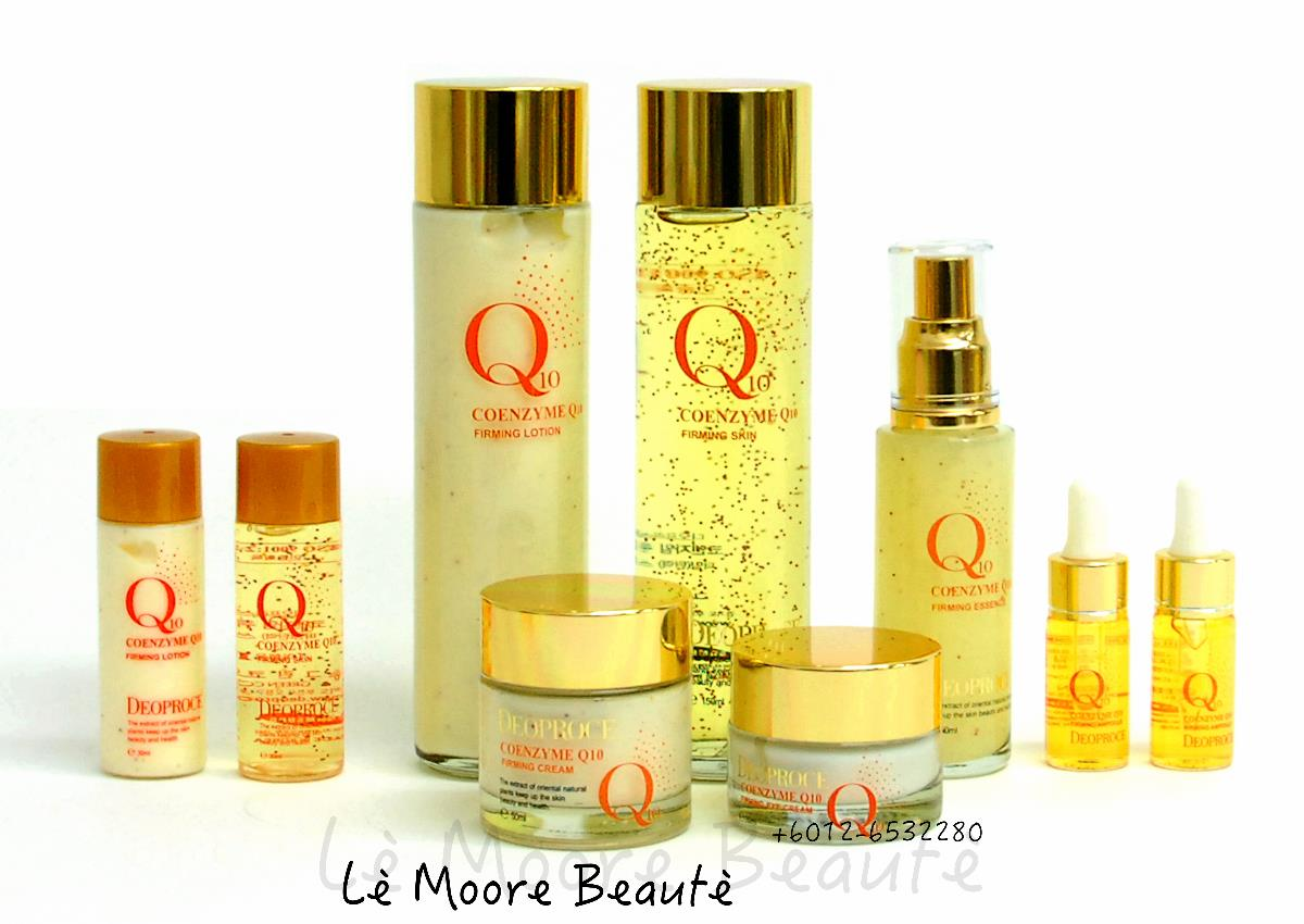 DEORPOCE Coenzyme Q10 Firming Skin Care Range