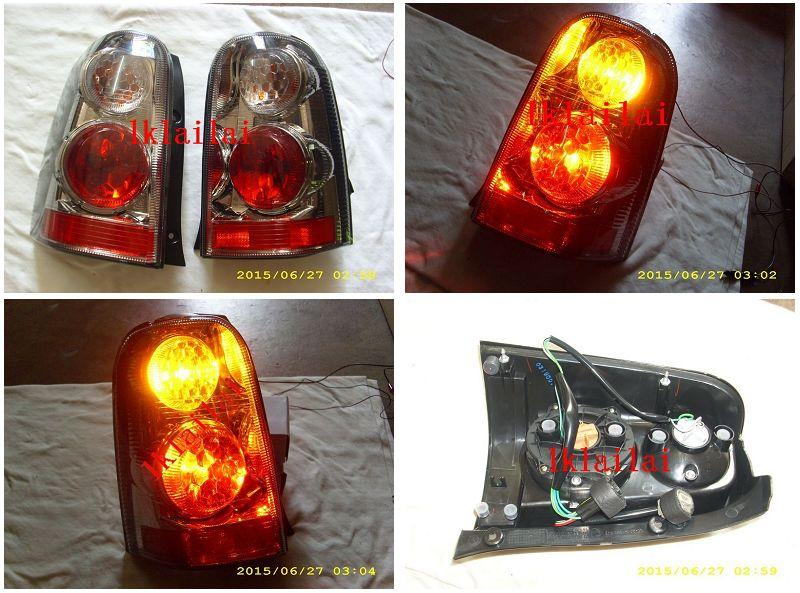 DEPO FORD ESCAPE '01-04 Crystal Tail Lamp