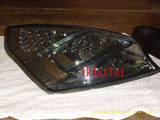DEPO Ford Fiesta `09 Tail Lamp Crystal LED Smoke [FD03-RL01-U]