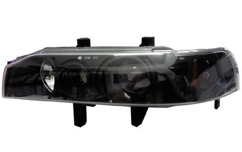 DEPO Honda Accord SM4 `90-`93 Head Lamp Crystal Black W/ Projector [HD
