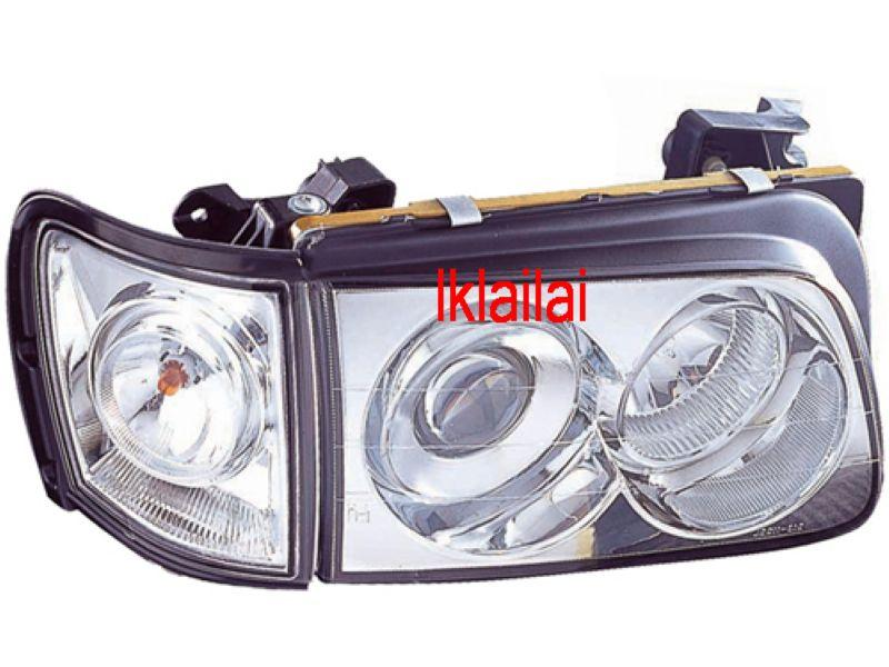 DEPO Isuzu Invader `97-01Head Lamp Crystal Projector W/Corner Lamp