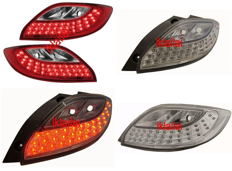 DEPO MAZDA 2 '07-10 LED Tail Lamp [35-LED] [Red Smoke]