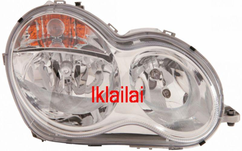 DEPO Mercedes Benz C-Class W203 `04 Crystal Head Lamp