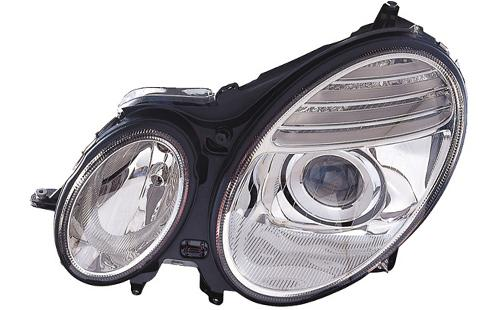 DEPO Mercedes Benz E-Class W211 '07 Head Lamp Projector W/Motor