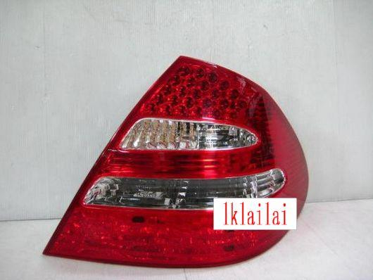 DEPO Mercedes Benz W211 '03-05 RED/CLEAR LED Tail Lamp W211-RL05-U