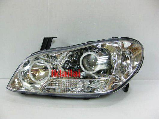 DEPO Nissan Cefiro A34 CCFL Projector Head Lamp Chrome Housing