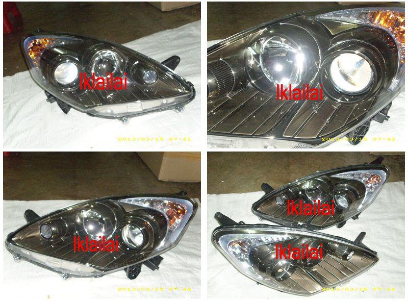 DEPO Perodua Alza `10 Projector HEAD LAMP [Smoke] Option add DRL