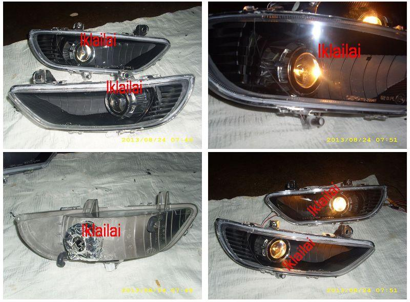 DEPO Toyota Camry '04 ACV30 Projector Fog Lamp Black