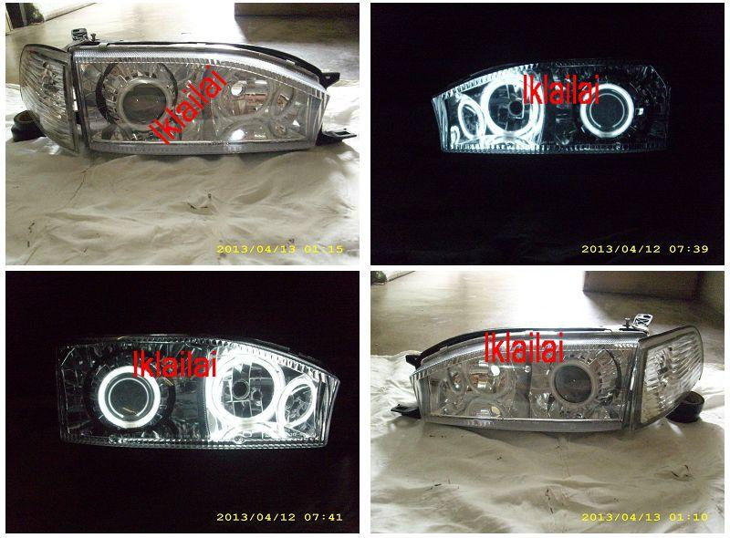 DEPO Toyota Camry '92-95 Projector CCFL Head Lamp + Corner Lamp