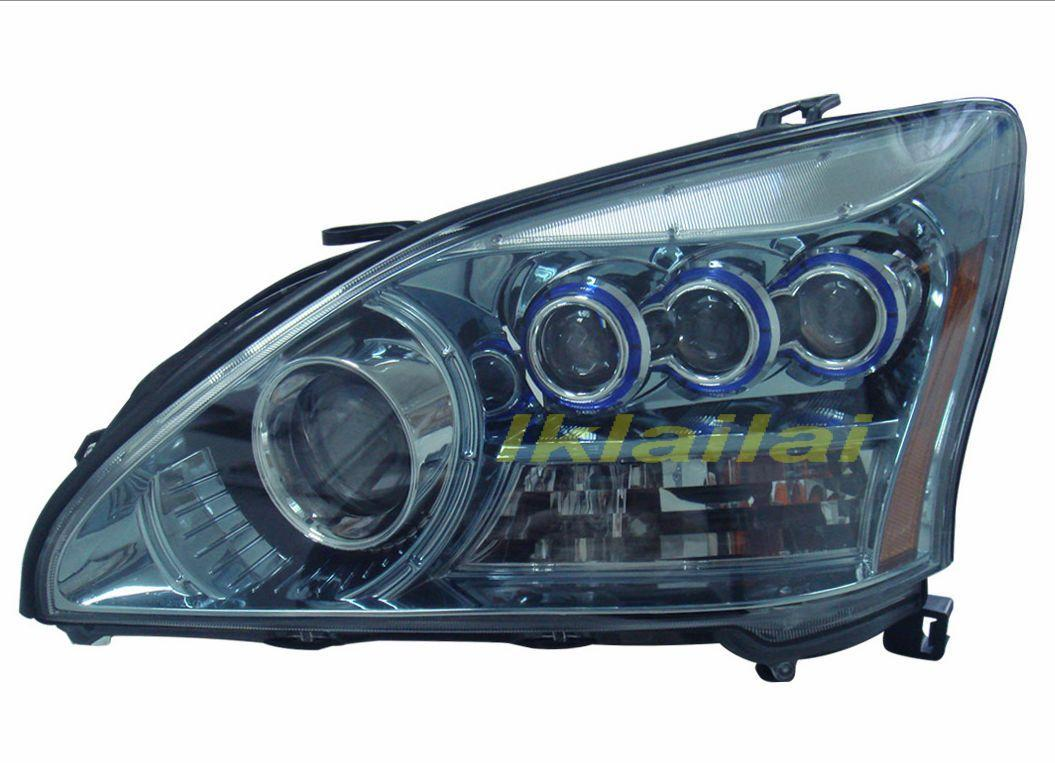 DEPO Toyota Harrier RX330 `04 Projector Head Lamp Hybird Look [TY22-HL