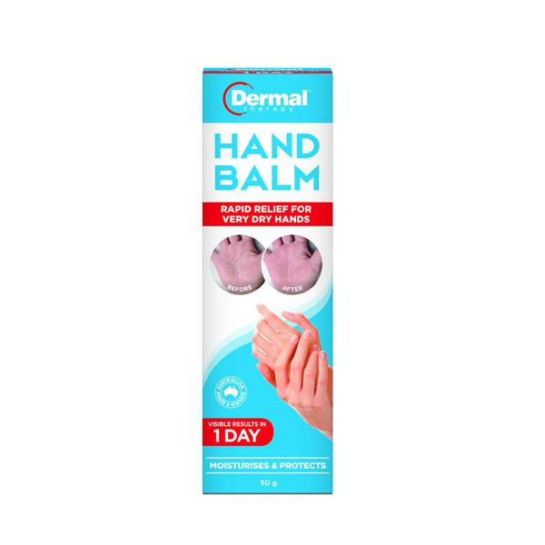 Dermal Therapy Hand Balm Relief for Very Dry Skin 50g
