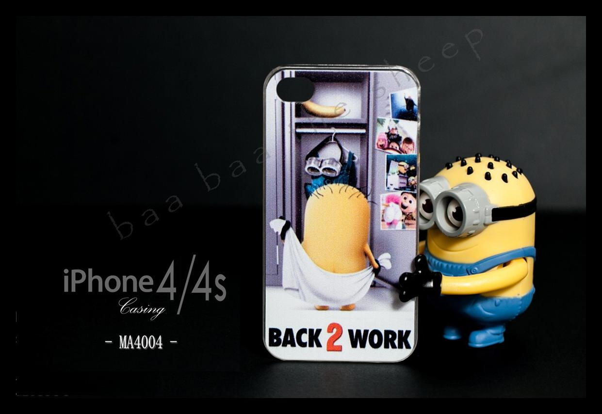 Iphone 21 Despicable me 2 minion iphone