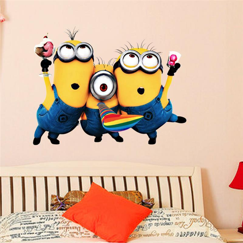 Despicable Me Minion Vinly Wall Decal Removable Wall Sticker