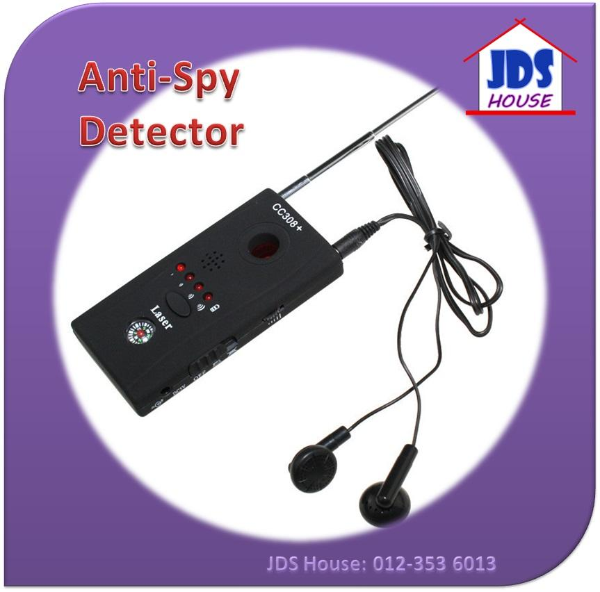 Detector for Hidden Camera / IP Lens/ RF Signal Finder Anti Spy CC308+
