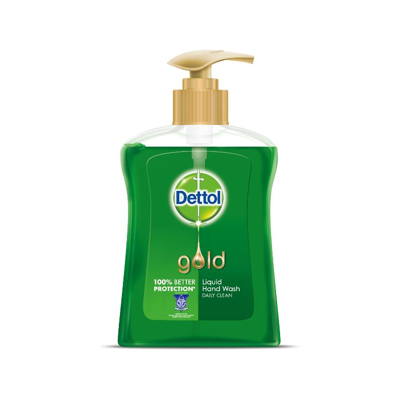 Dettol Gold Hand Wash Daily Clean 200ml