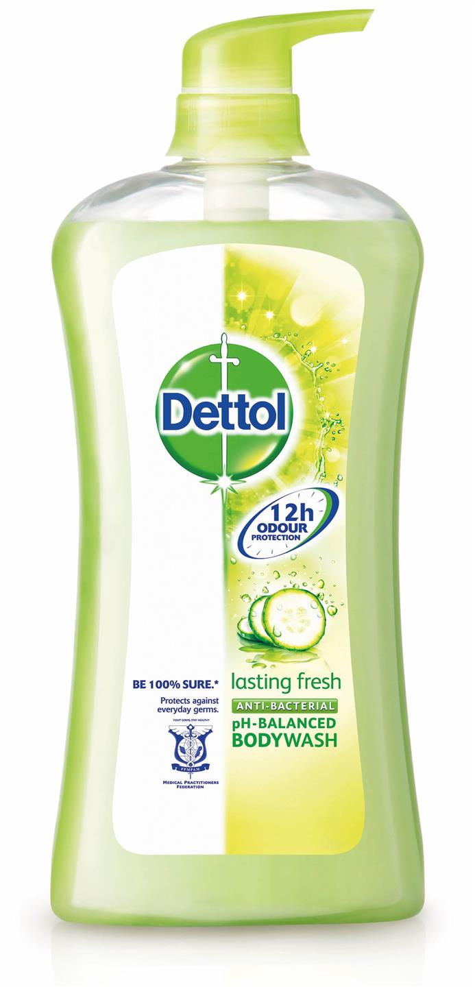 Dettol Shower Gel Anti-Bacterial Lasting Fresh 950ml X 2