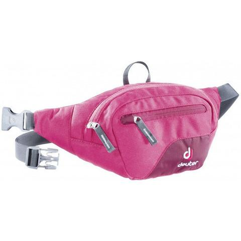 DEUTER BELT I HIP BAG - MAGNENTA BLACKBERRY