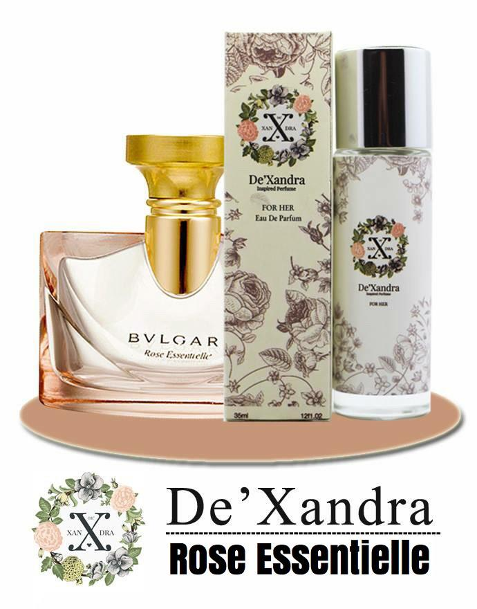 DeXandra EDP Perfume BVLGARI ROSE ESSENTIELLE For Her/Women