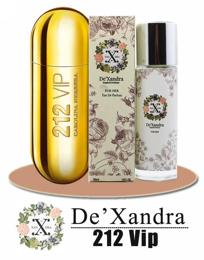 DeXandra Inspired Perfume 212 Vip For Women