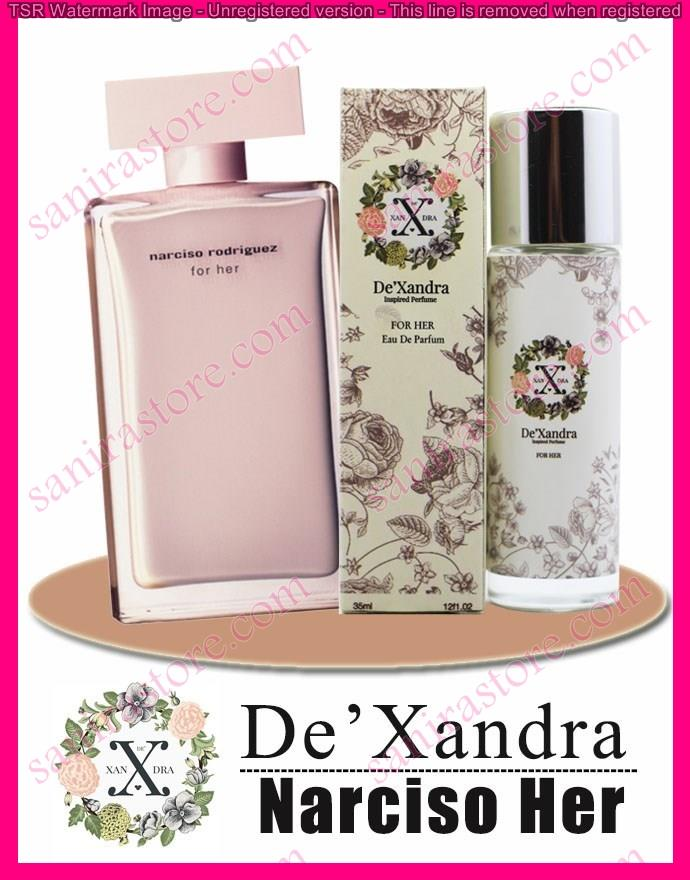 DeXandra NARCISO RODRIGUEZ NARCISO PINK  EDP For Her