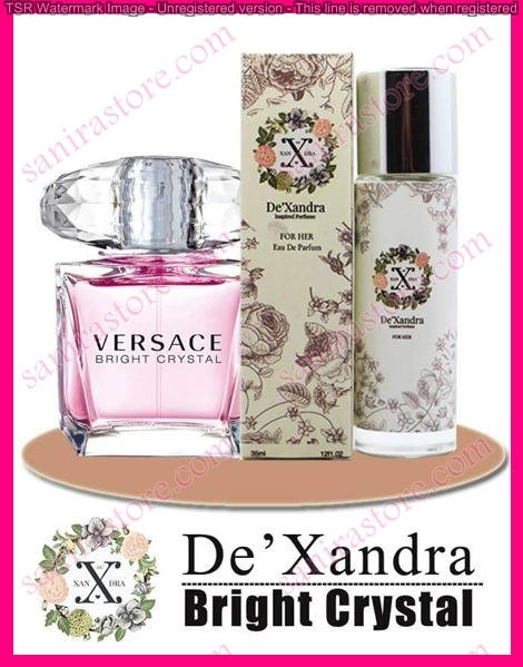 DeXandra VERSACE BRIGHT CRYSTAL EDP For Her