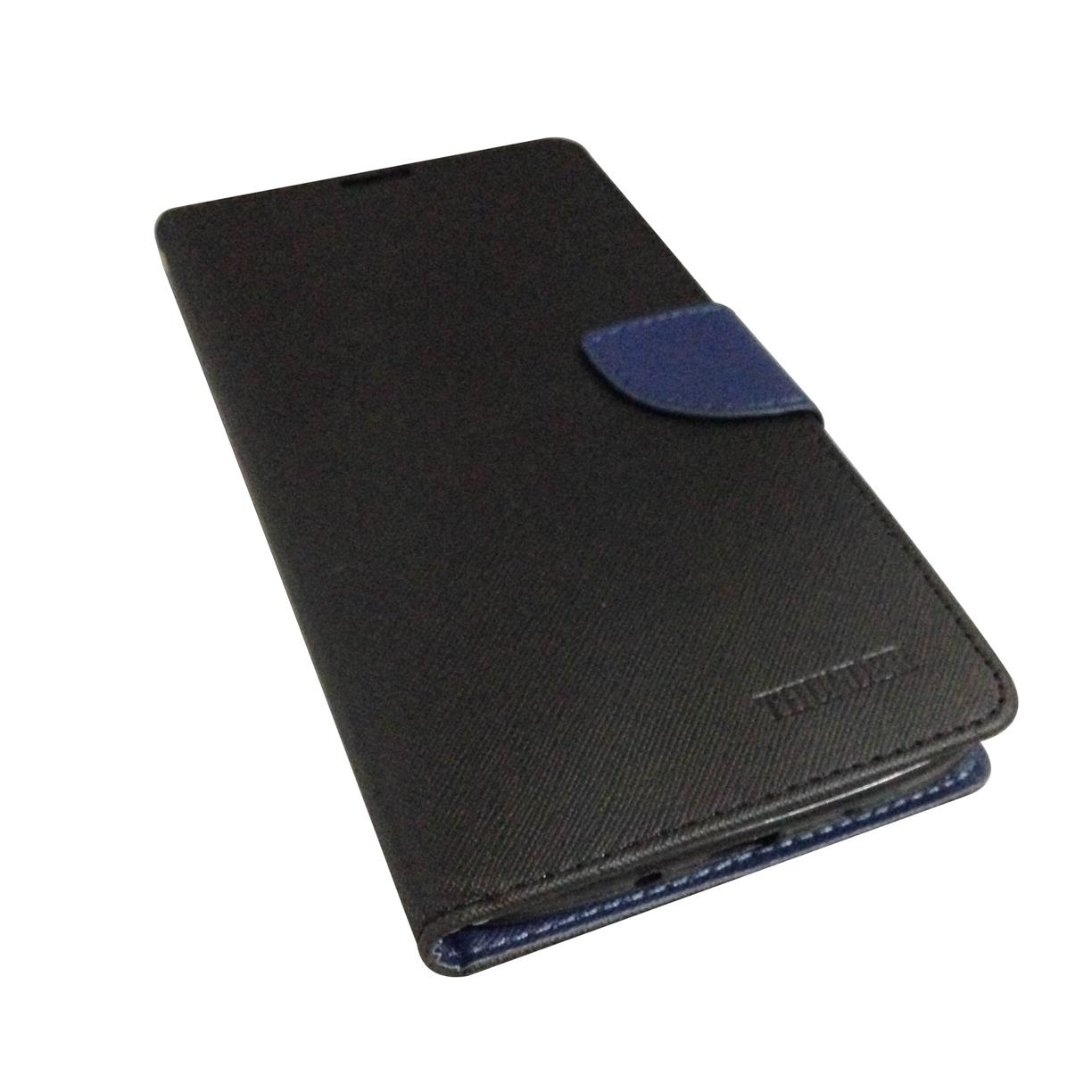 DIARY CASE for SAMSUNG GALAXY MEGA i9200 ( Black )