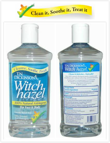 Dickinson Brands, 100% Pure Witch Hazel, For Face & Body (473 ml)