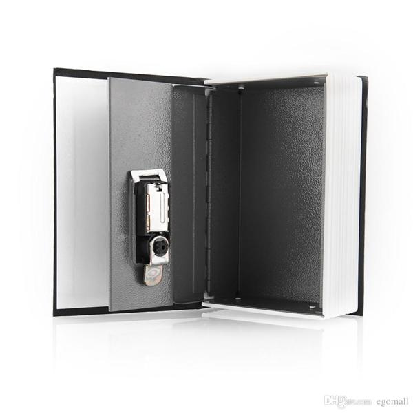 Dictionary Book Diversion Secret Safe Box - Combination Lock