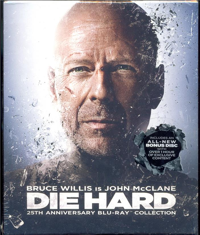 Die Hard - 25TH Anniversary Collection -  New Blu-Ray